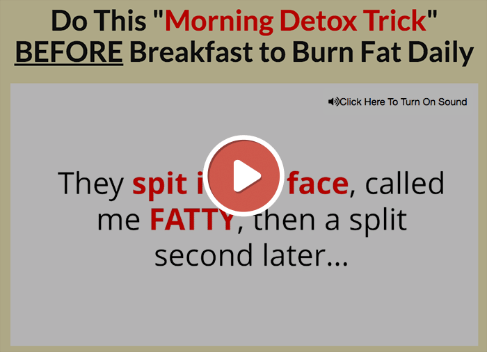 Flat Belly Detox Video Preview