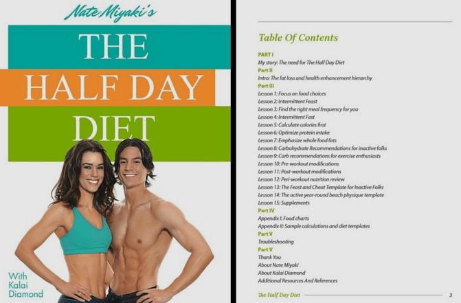 Half Day Diet ToC